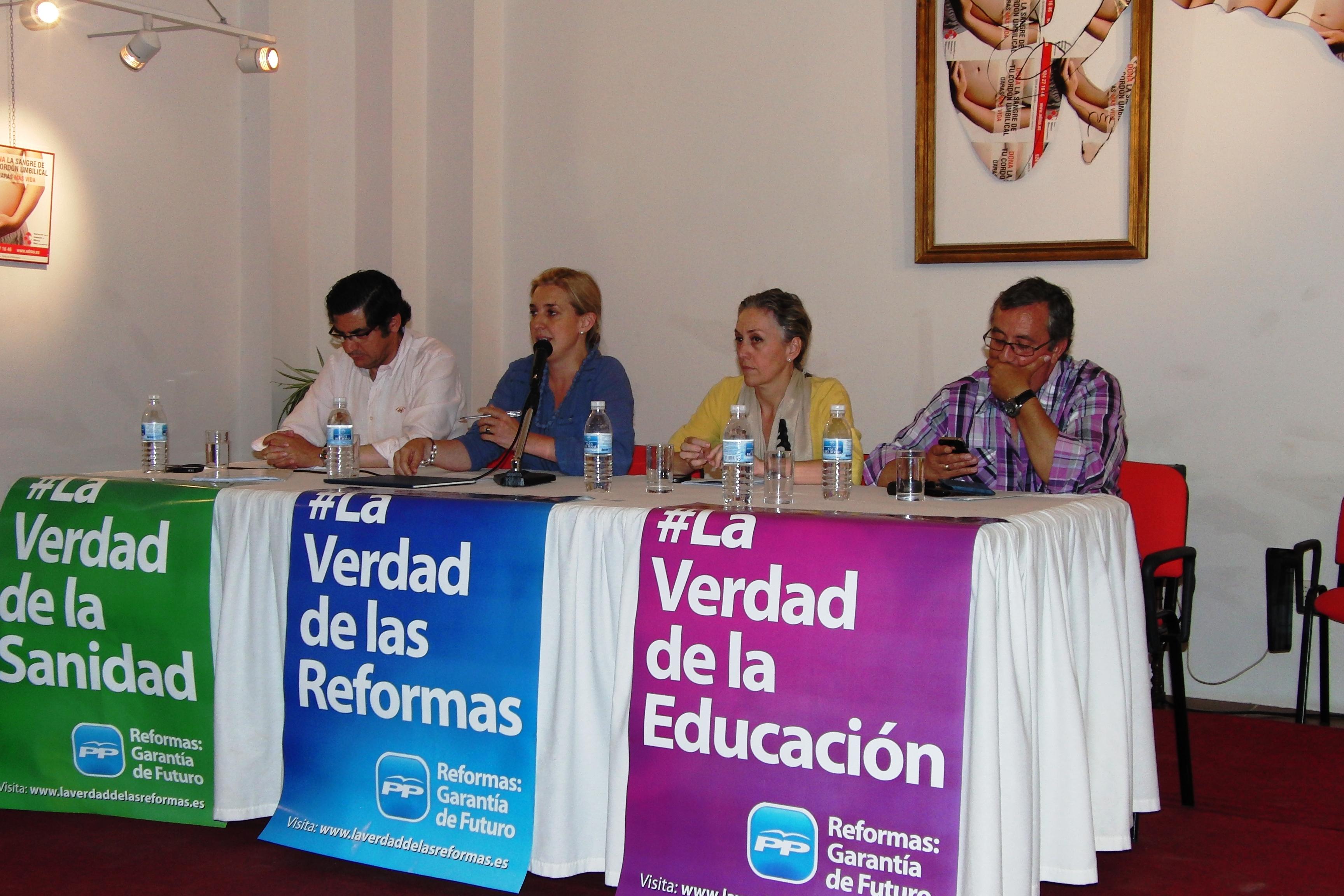 El PP explica las reformas emprendidas