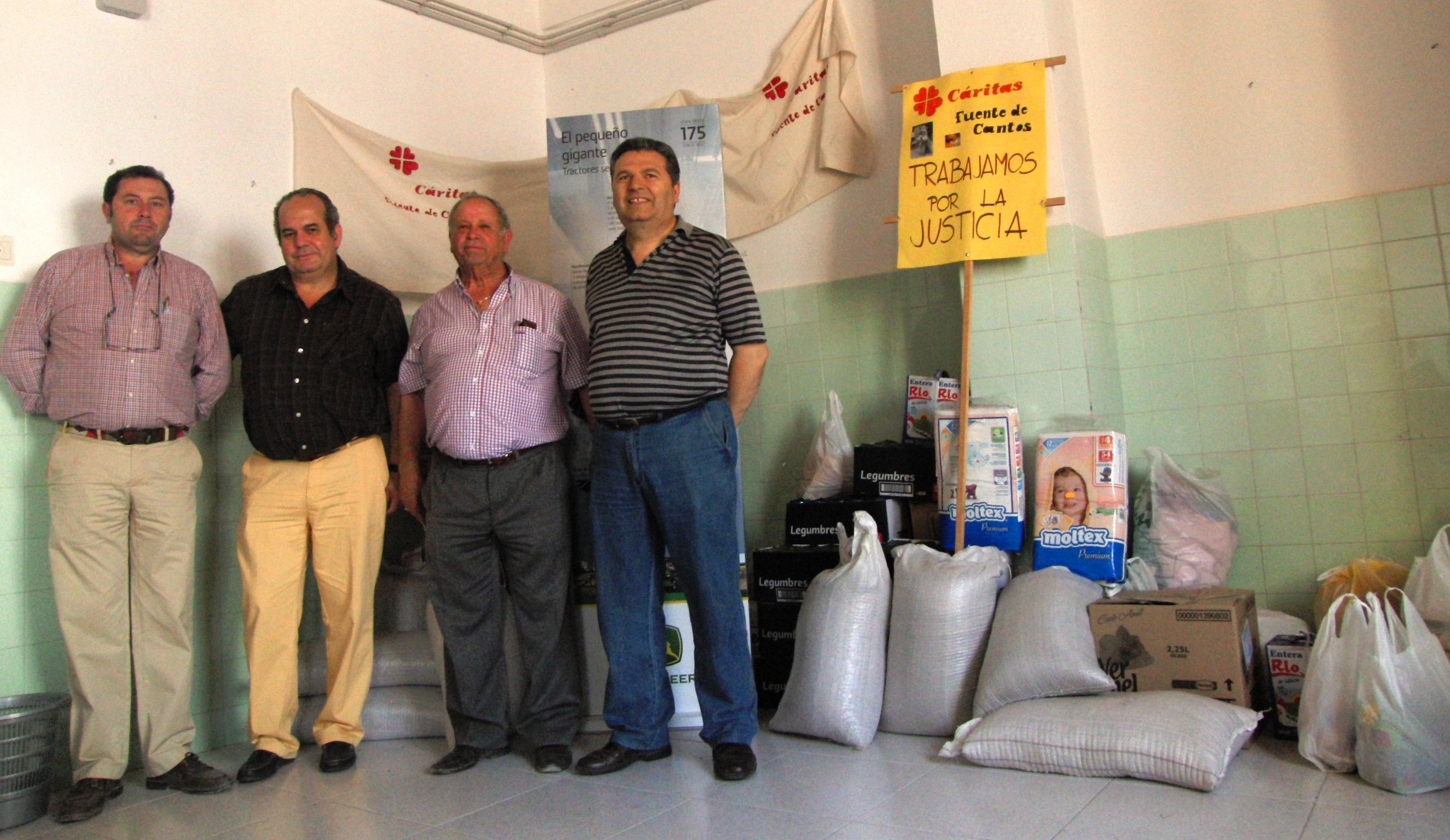 Agrifusa entrega mil kilos de comida a Cáritas Parroquial