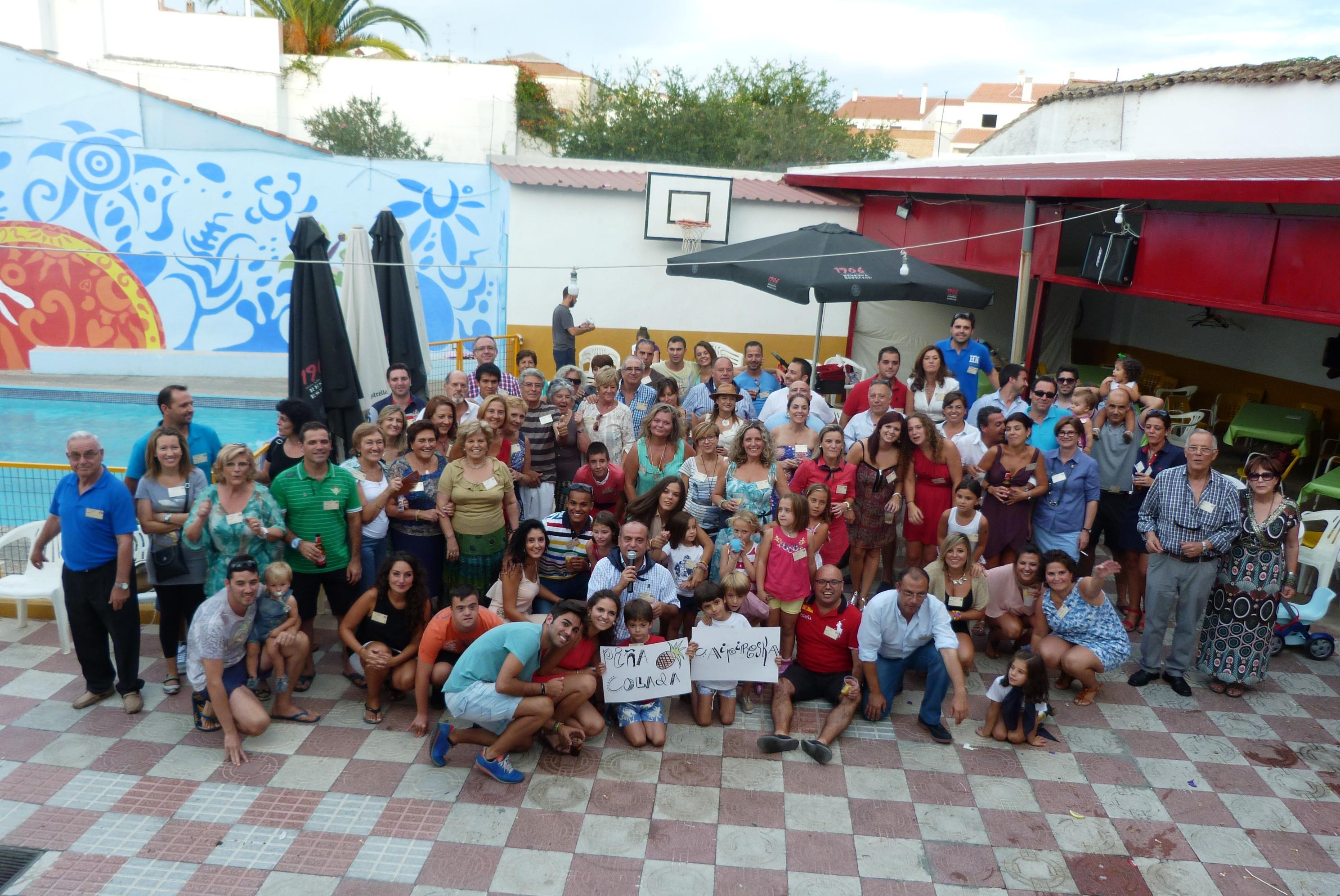 El apellido Boza reúne a 150 personas en Fuente de Cantos
