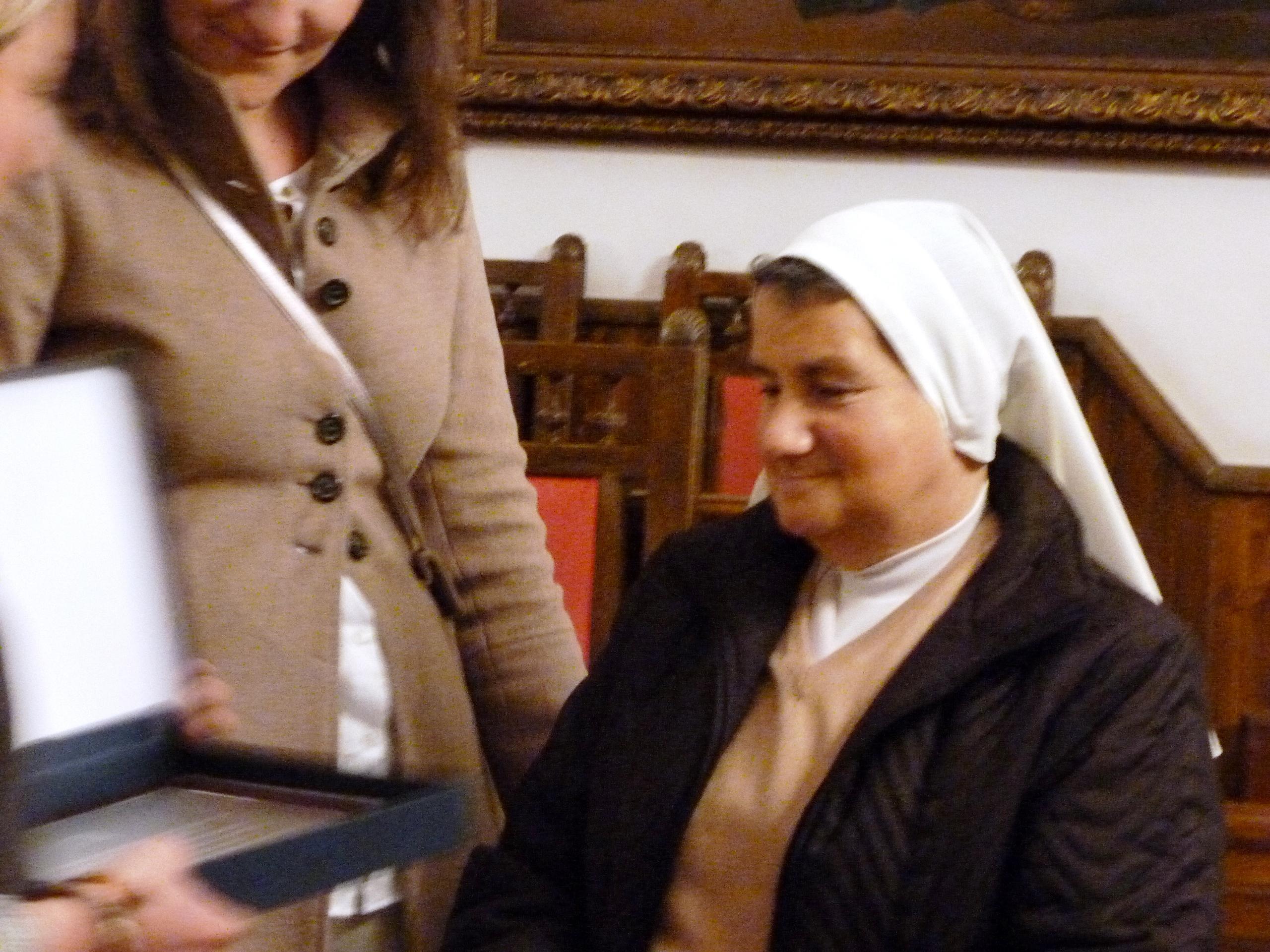 Homenaje a la hermana Izaskum