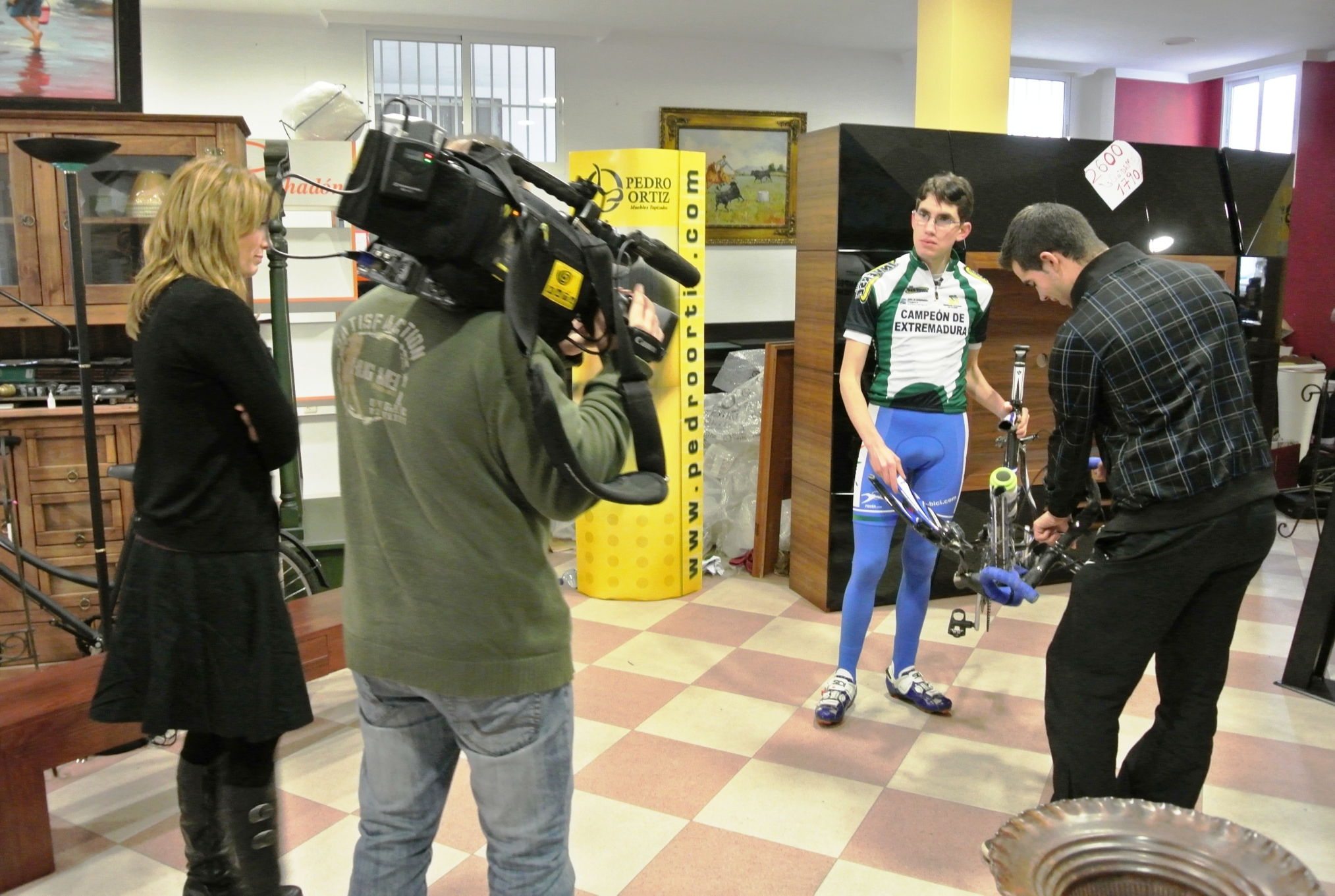 Canal Extremadura TV con Antonio David