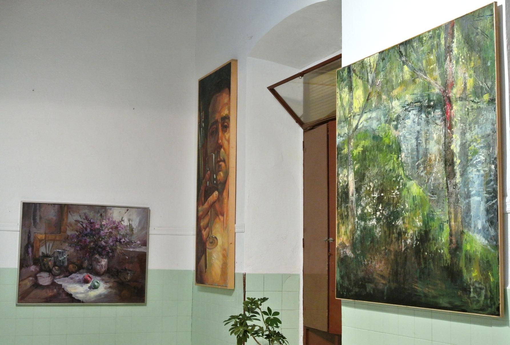 Exposiciones en el recinto de la Hermosa